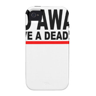 Go away, I have a deadline T-Shirts.png iPhone 4 Cover