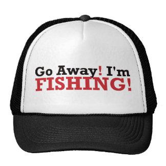 Go Away! I'm Fishing! - Red Cap