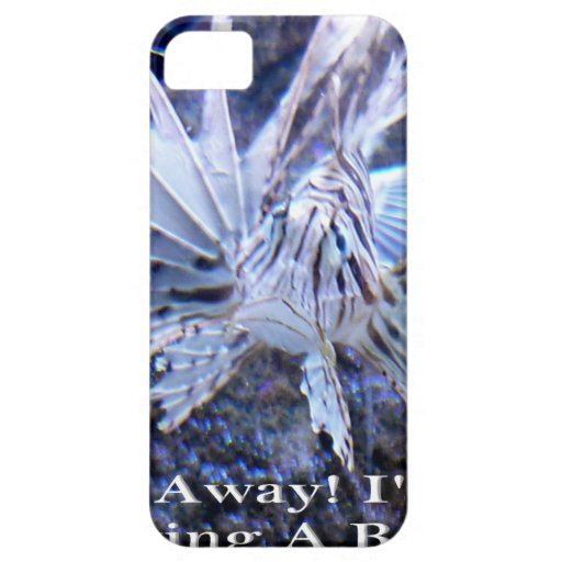 Go Away I'm Having A Bad Day Shirts, Hats, Gifts iPhone 5/5S Covers