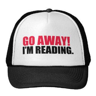 Go Away! I'm Reading. Cap