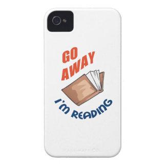 GO AWAY IM READING iPhone 4 Case-Mate CASE