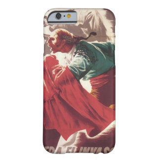 Go away, invaders! (1937)_Propaganda Poster Barely There iPhone 6 Case