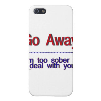 go away iPhone 5 cover