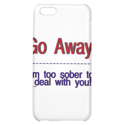 go away cover for iPhone 5C