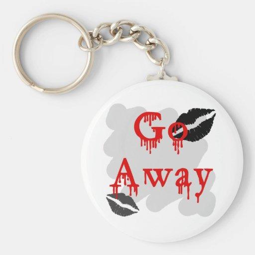 go away keychains