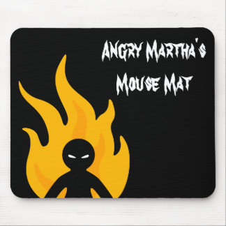 Go Away! Mouse Mat