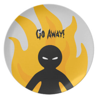 Go Away! Plates
