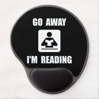 Go Away Reading Gel Mouse Pad