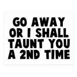 Go Away Taunt