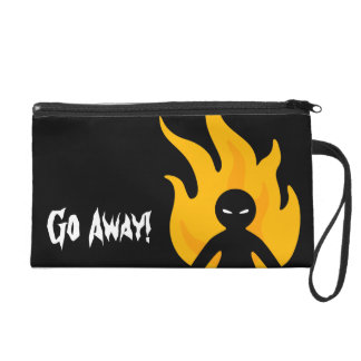 Go Away! Wristlet Clutch