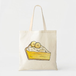 Go Bananas Banana Cream Pie Slice Tote Bag