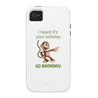 GO BANANAS iPhone 4 COVERS