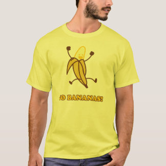 GO BANANAS shirt (M Shrt-slv yellow)