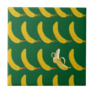 Go Bananas Small Square Tile