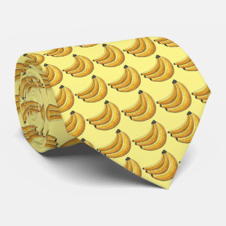 Go Bananas! Yellow Banana Bunch Tropical Fruit Tie