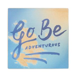 Go Be Adventurous Sky Wood Coaster