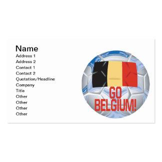 Go Belgium Pack Of Standard Business Cards