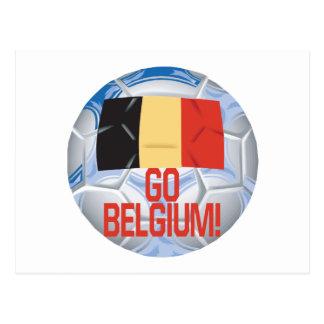 Go Belgium Postcard