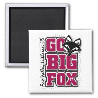 Go Big Fox Magnet