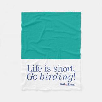 Go Birding! Fleece Blanket