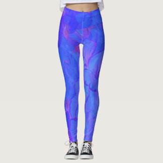 GO BLUE LADIES LEGGINGS