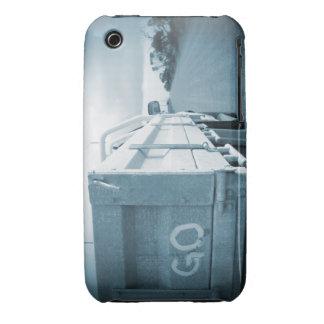 Go blue travel nature landscape dirt road sky ute Case-Mate iPhone 3 case