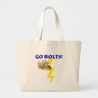 GO BOLTS! GRAPHIC FOOTBALL LOVER PRINT BAG