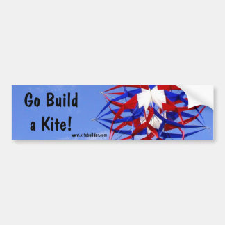 Go Build a Kite! Bumper Sticker