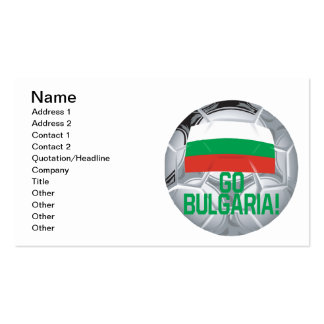 Go Bulgaria Pack Of Standard Business Cards