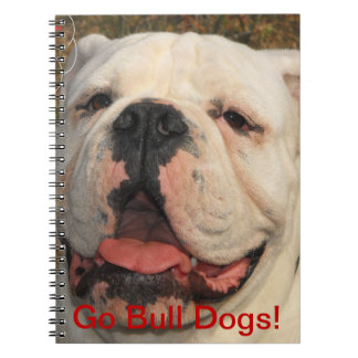Go Bull Dogs! Notebook