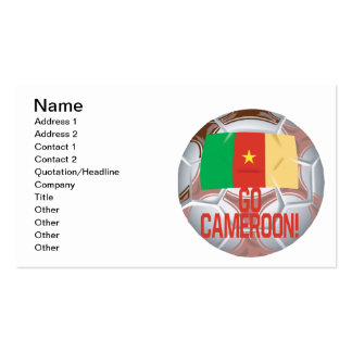 Go Cameroon Pack Of Standard Business Cards