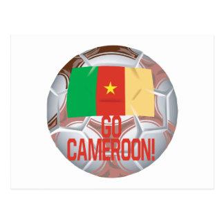 Go Cameroon Postcard