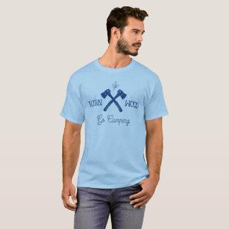 Go Camping Burn Wood T-Shirt