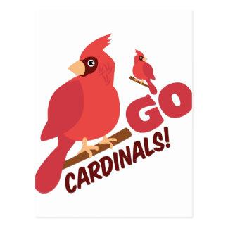 Go Cardinals Postcard