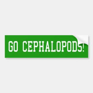 Go Cephalopods! Bumper Sticker