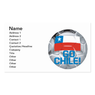 Go Chile Pack Of Standard Business Cards