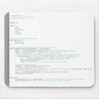 Go Code Mousepad