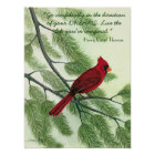 Go Confidently... - Red Cardinal Poster