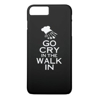 GO CRY IN THE WALK IN iPhone 7 PLUS CASE