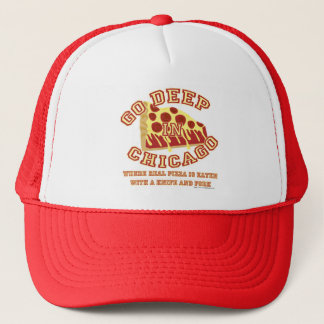 Go Deep Chicago Style Pizza Trucker Hat