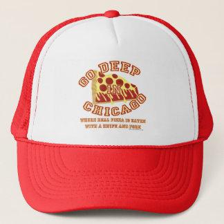 Go Deep Chicago Style Pizza Trucker Hat