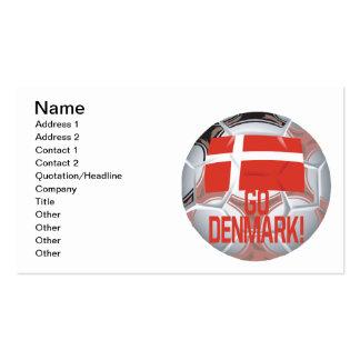 Go Denmark Pack Of Standard Business Cards
