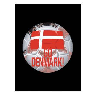 Go Denmark Postcard