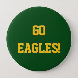 Go Eagles 10 Cm Round Badge