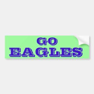 Go Eagles* Bumper Sticker