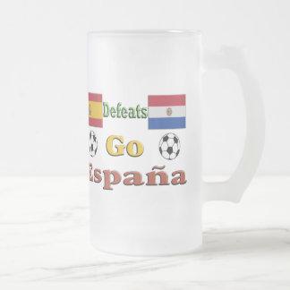 Go España Frosted Glass Mug