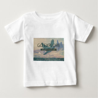 Go Explore Print Baby T-Shirt