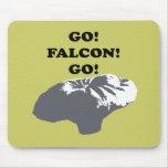 Go Falcon Go Mousepads