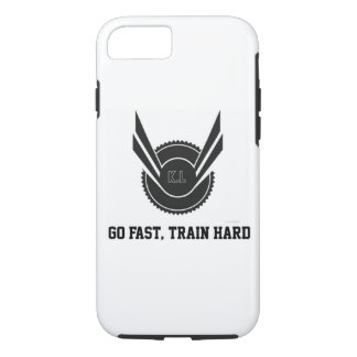 Go Fast, Train Hard Phonecase iPhone 8/7 Case