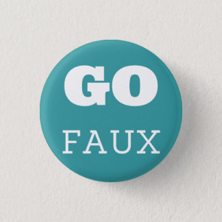 GO FAUX 3 CM ROUND BADGE